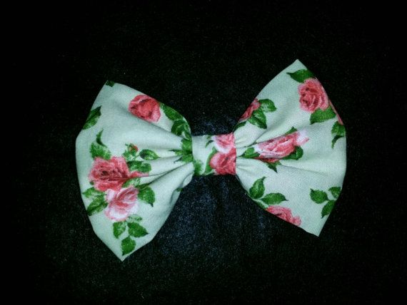 Check out this item in my Etsy shop https://www.etsy.com/listing/239202044/summer-colored-rose-fabric-bow
