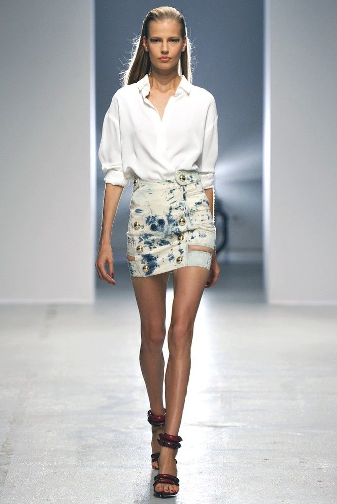 Anthony Vaccarello RTW Spring 2014 Photo by Dominique Maître