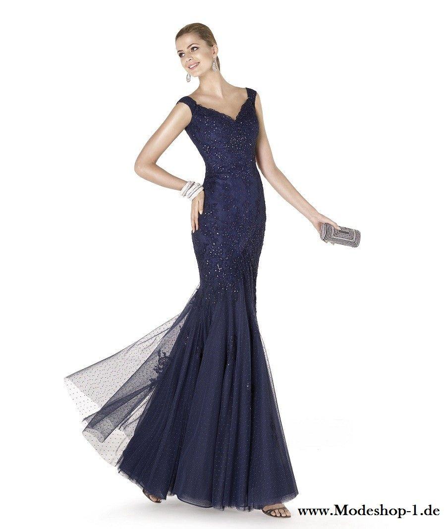 a52a5a6522c2 Blaues Meerjungfrau Abendkleid mit Dekollette   Mode   Pinterest