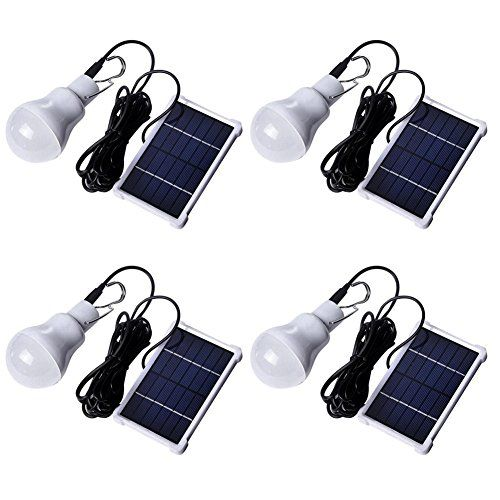 Portable 180LM 12LED Solar Energy Charge Light Bulb Camping Emergency Lamp