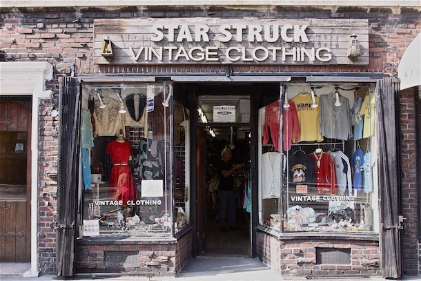 Vintage Rock N Roll Tees And Dior Couture Too Vintage Store Nyc Shopping Autumn In New York