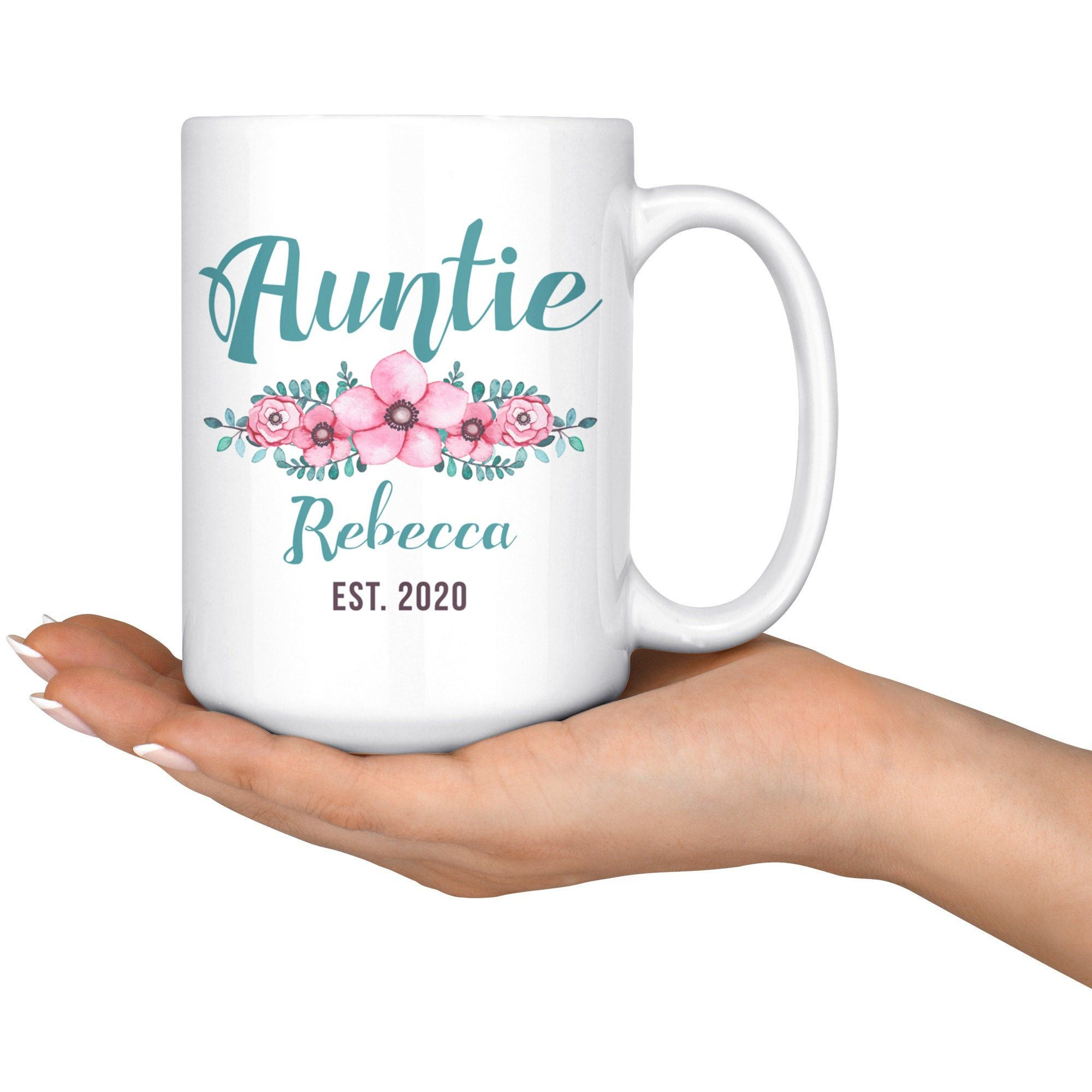 Gift For Auntie Personalized Ceramic Coffee Mug | Etsy in ...