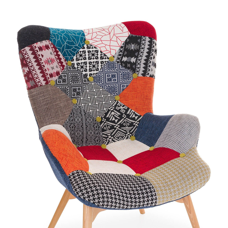 sessel freather patchwork - Planner Sessel