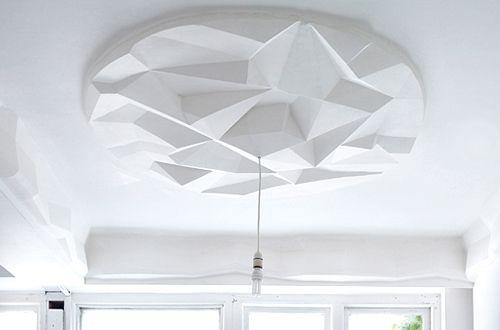 Faux plafond staff decoration classique revisit for Faux plafond staff