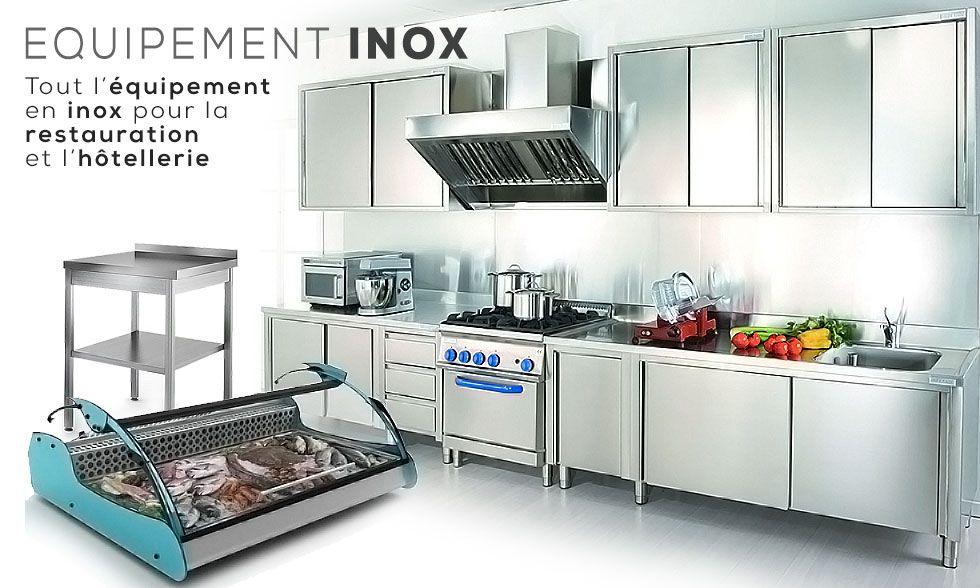L Equipement En Inox Destine Aux Professionnels De La Restauration Inox Table Inox Les Materiels
