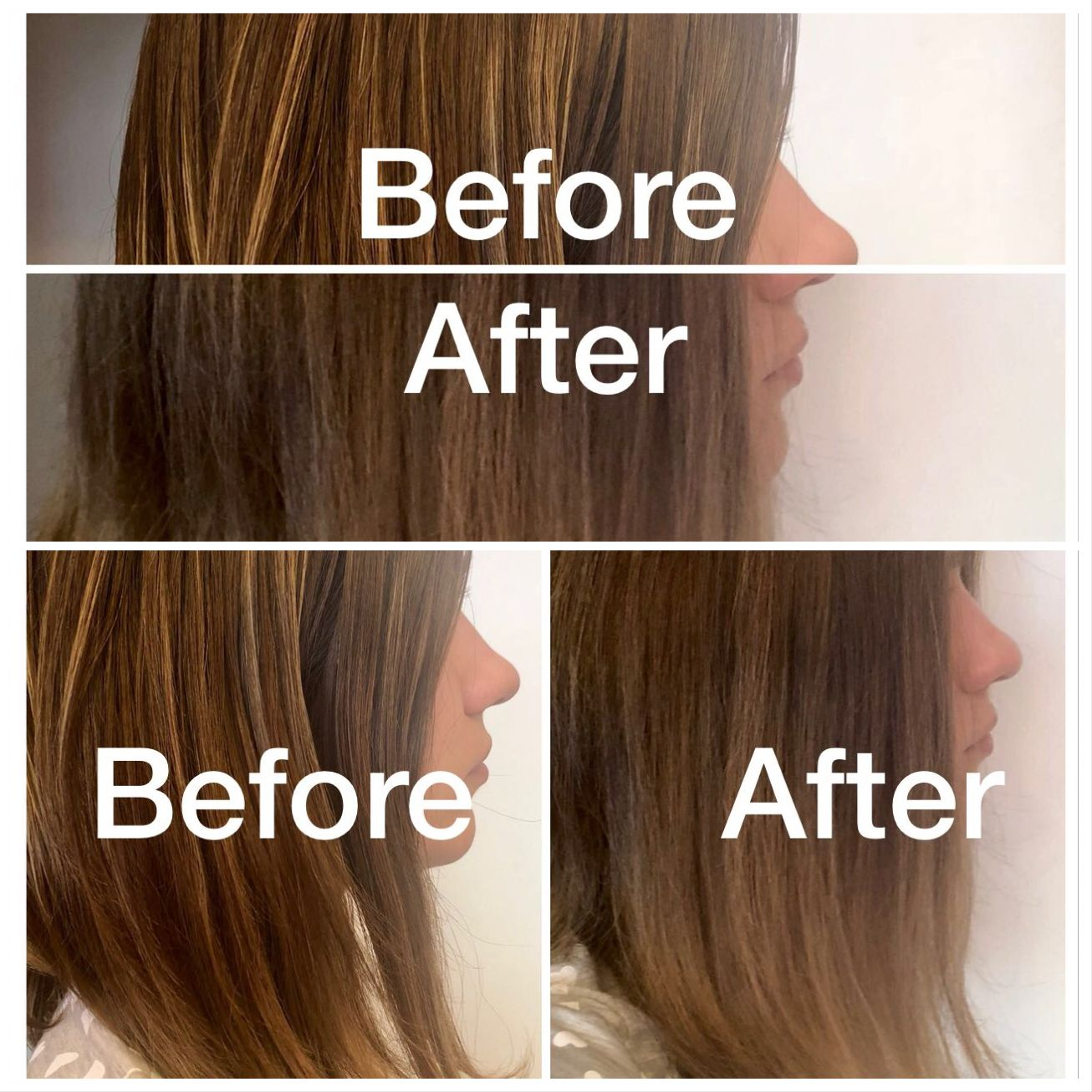 Shimmer Lights Shampoo Before And After Brown Hair