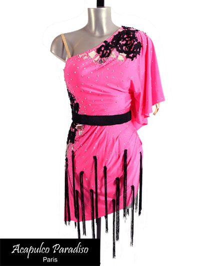 Nora: Latin dress Women - Acapulco Paradiso