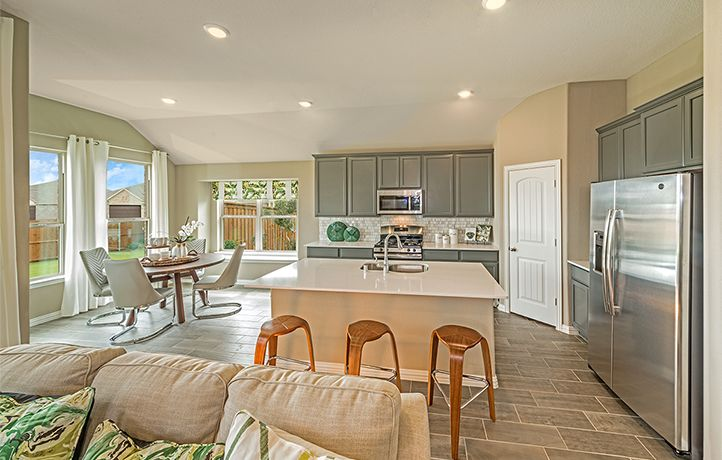 Grey Kitchen Cabinets | New homes for sale, Beautiful ...