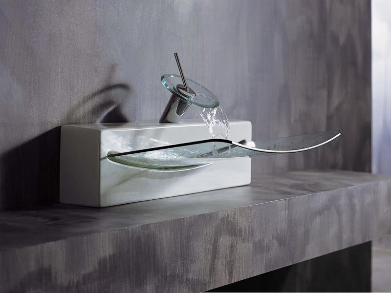Modern Sink With Transparent Glass Basin   Crystal By Artceram   FURNISHism Part 37
