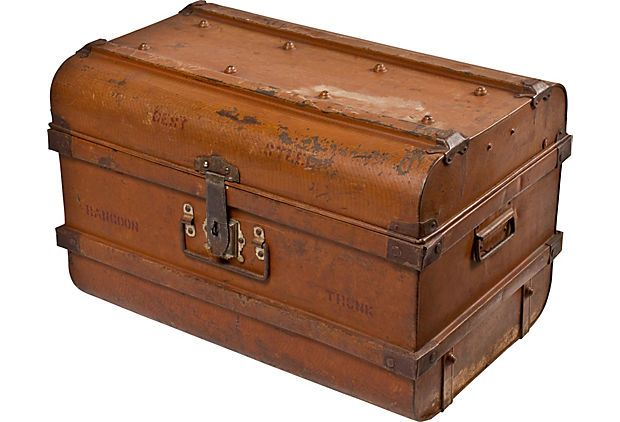 Vintage Trunk / One Kings Lane