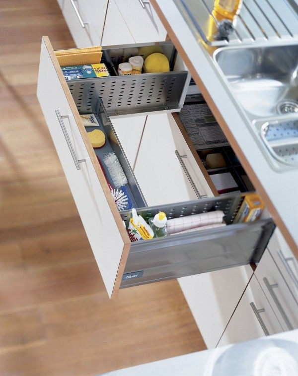 Lovely A Drawer That Wraps Around The Sink. Why Is This Not More Common?