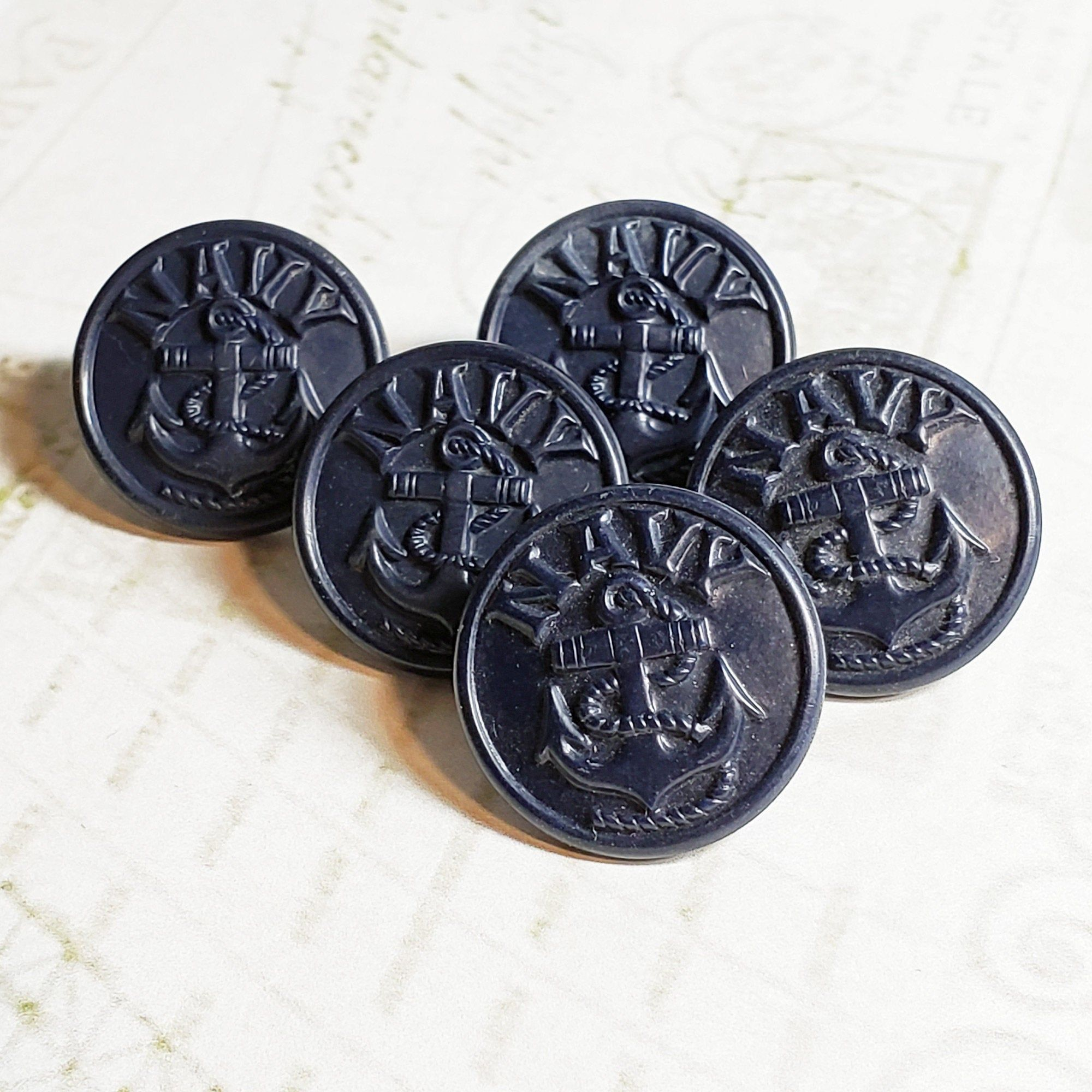 Navy old buttons us USN WW1