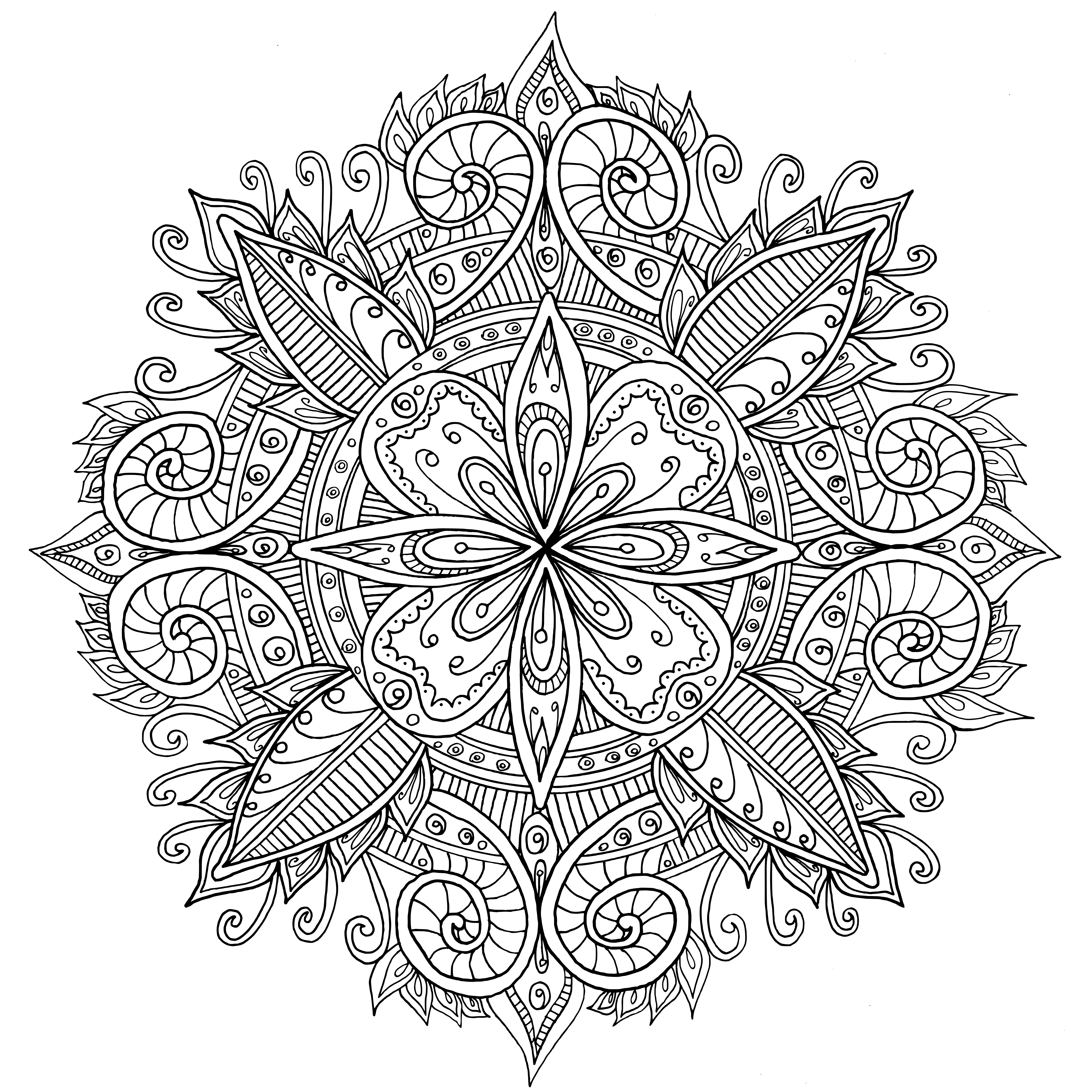 Mandala coloring pages for r coloring pages - Mandala Pictures Mandala Hotel R Coloring