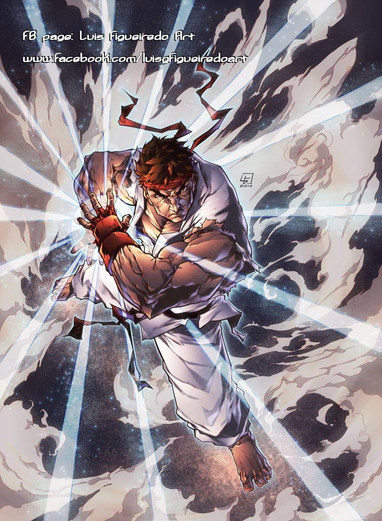 Hadouken Ryu From Street Fighter By Marvelmania Street
