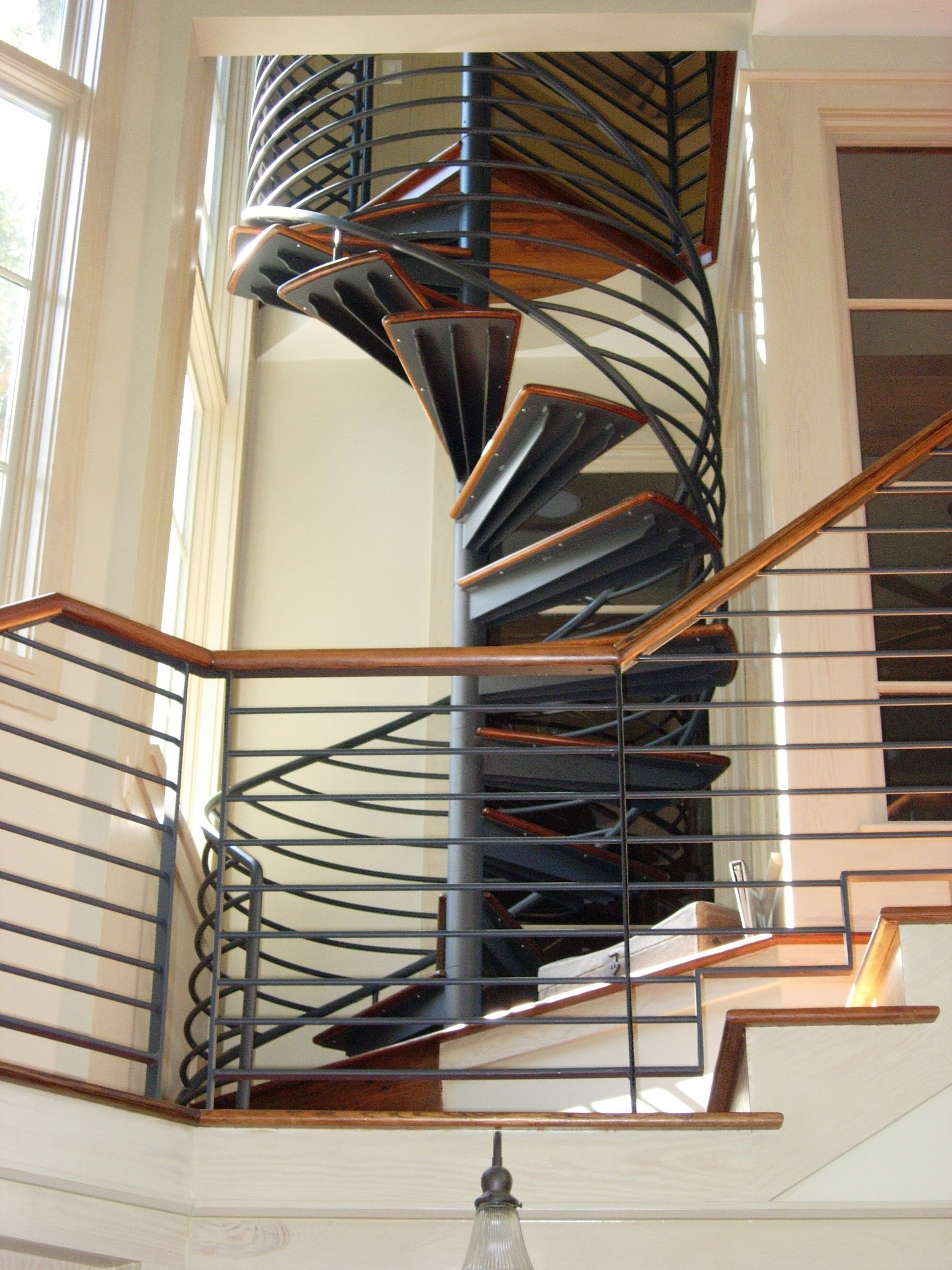 Best Residential Spiral Stair Floating Staircase Spiral 400 x 300