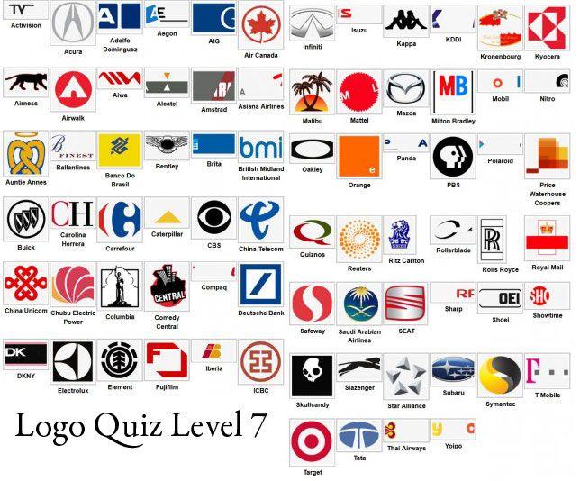 Logo Quiz Answer Level 1 2 3 4 5 6 7 8 9 Levelstuck Com Logo
