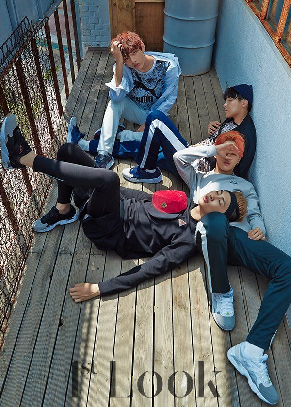 BTS  PUMA Pictorial for 1st Look  s  Jungs