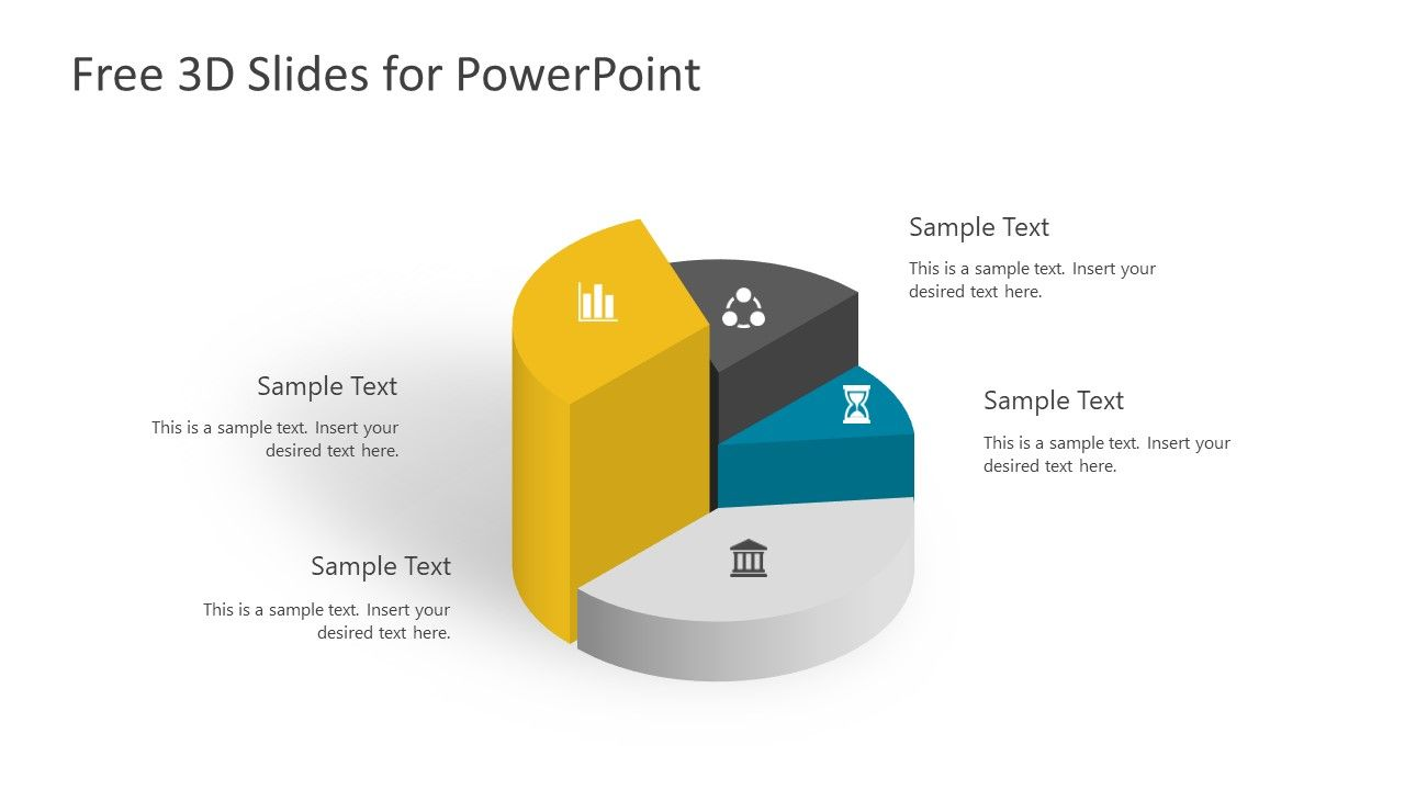 free 3d infographic slides for powerpoint | free slides | pinterest