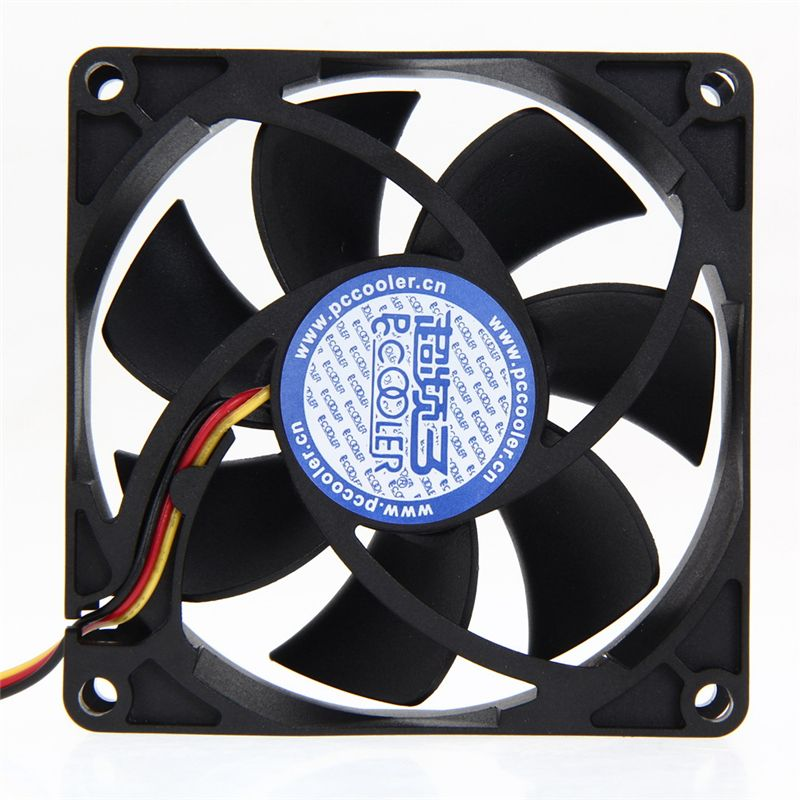 Brand New Mute 80mm Computer Pc Case 3 4 Pin Cooling Fan With