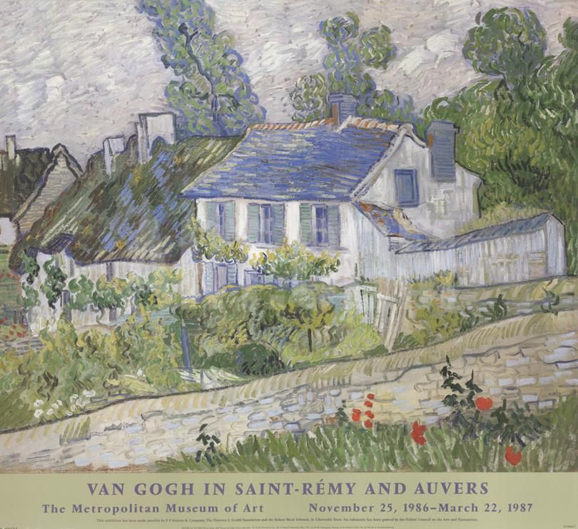 Houses At Auvers Collectable Print by Vincent van Gogh at Art.com
