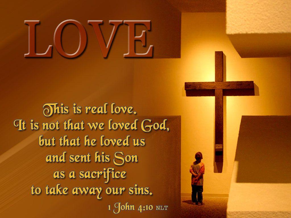 Jesus Loves Me Wallpaper klejonka