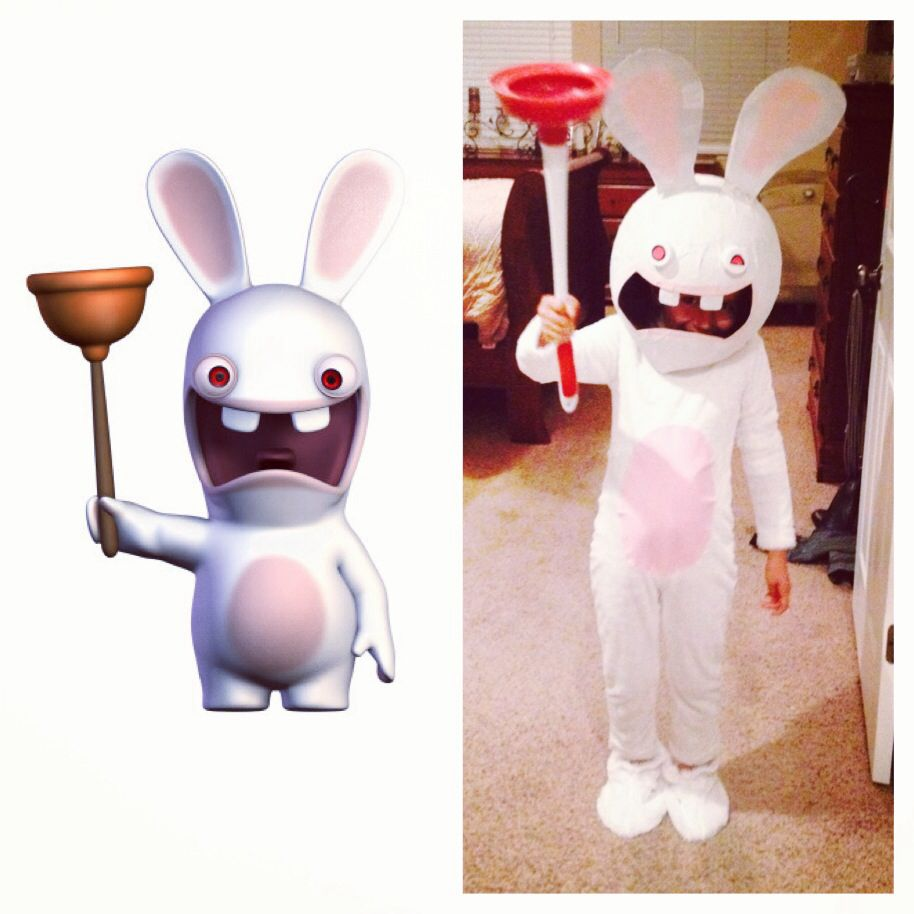 raving rabbids costume halloween - Raving Rabbids Halloween Costume