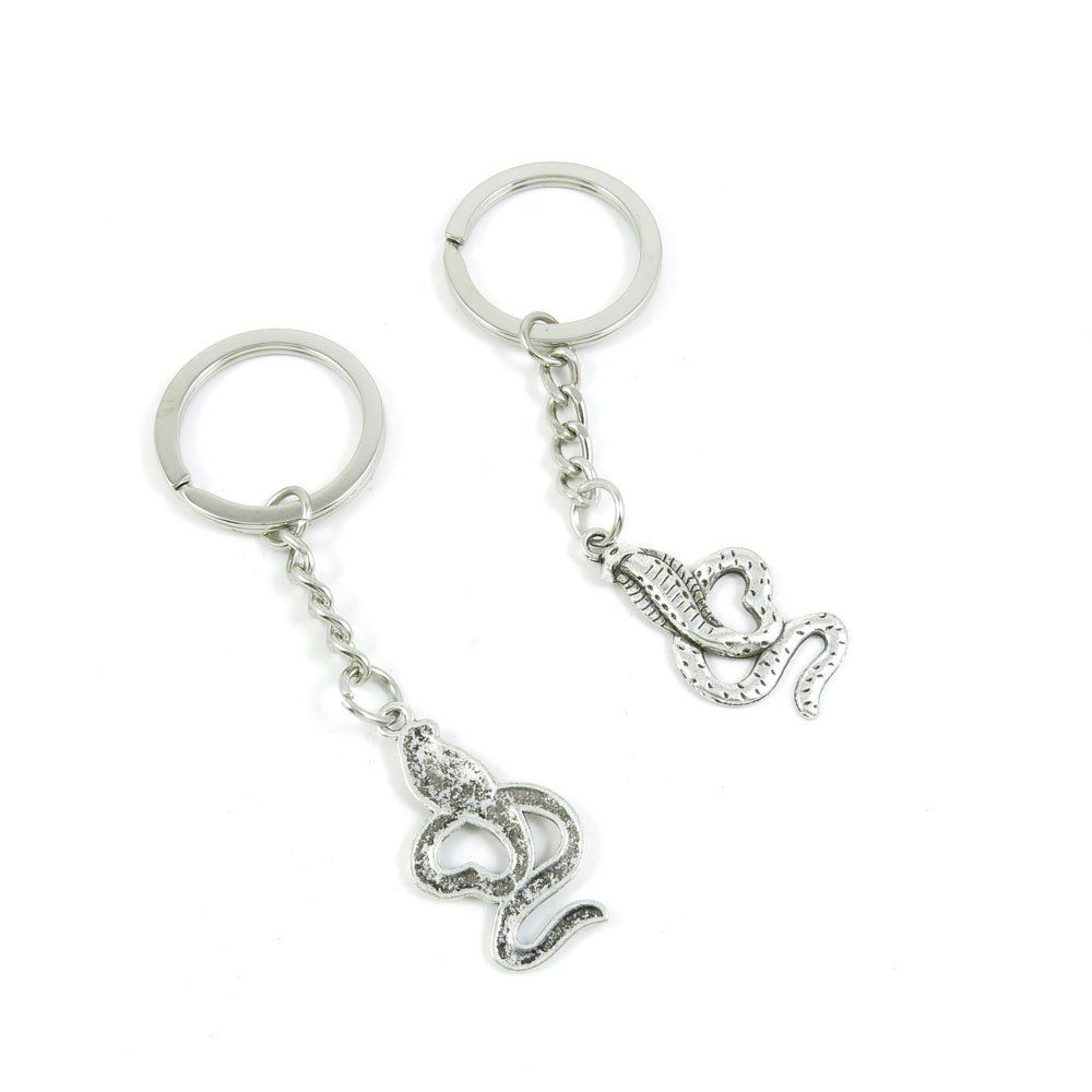 ... Keyring Ring Chain Keychain Supplies Antique Silver Tone Wholesale Bulk  Lots Y7RT4 Cobra Snake   Click image to get this special deal   99 cent  Women s ... 0b0b995b5c