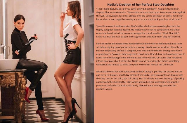 Feminization Beauty Within Tg Captions Stories Nadias Creation Of Her Perfect Step