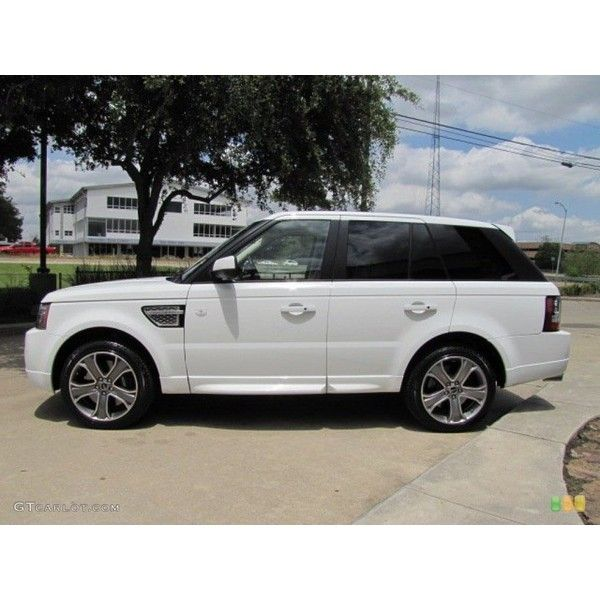 Fuji White 2012 Land Rover Range Rover Sport Autobiography Exterior Liked On Polyvore Featuri Range Rover Sport Autobiography Land Rover Range Rover Sport