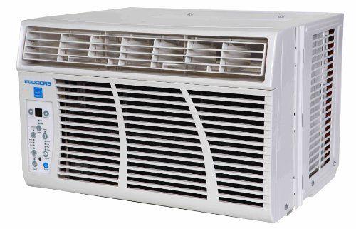 Fedders Az6r10f2a 10 000 Btu Window Room Air Conditioner With 9 8 Energy Efficiency Ra Window Air Conditioner Room Air Conditioner Small Window Air Conditioner