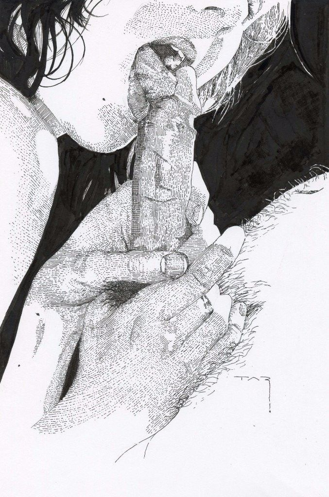 Oral Sex Illustrations 78