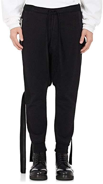 Mens Cotton Drop-Rise Jogger Pants Unravel ojF6j5bO