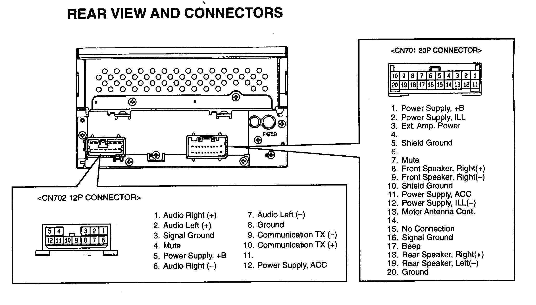 Elegant 2006 Toyota Tacoma Wiring Diagram In 2020 Electrical Wiring Diagram Car Stereo Diagram