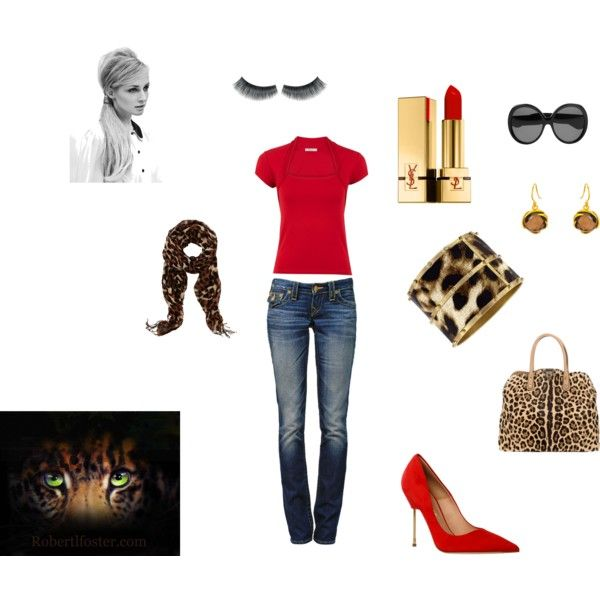 Meow, created by stephanie-pettitt-michelli on Polyvore