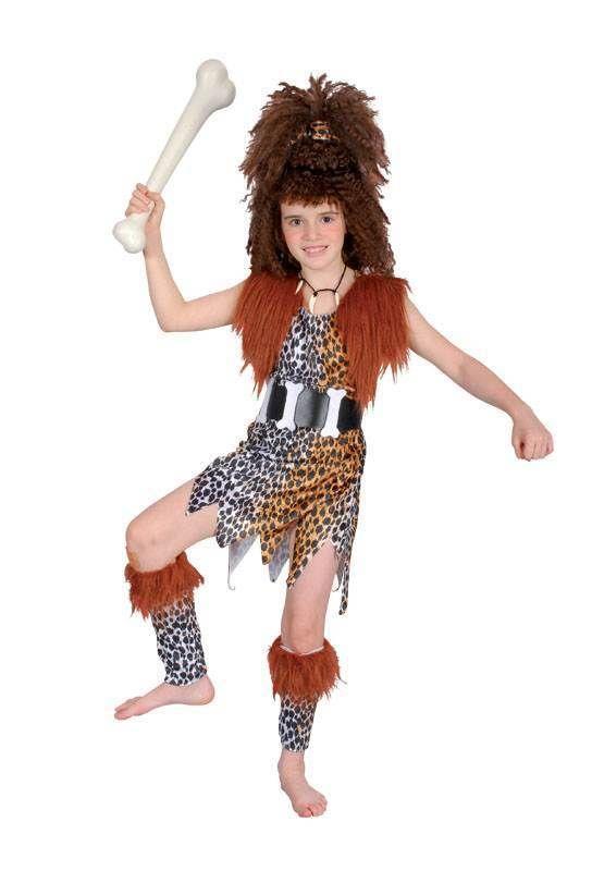 Cavewoman Fancy Dress Costume Large