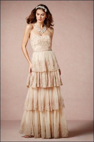 Wedding dress: Vintage Style #vestidos de #novia