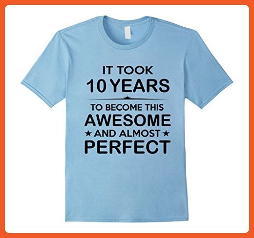 Mens Ten 10 Year Old 10th Birthday Gift Ideas For Boy Girl Medium Baby Blue
