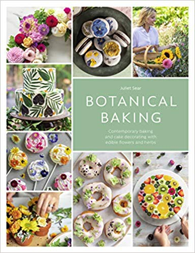 Botanical Baking: Contemporary Baking and Cake Decorating With Edible Flowers an...#baking #botanical #cake #contemporary #decorating #edible #flowers