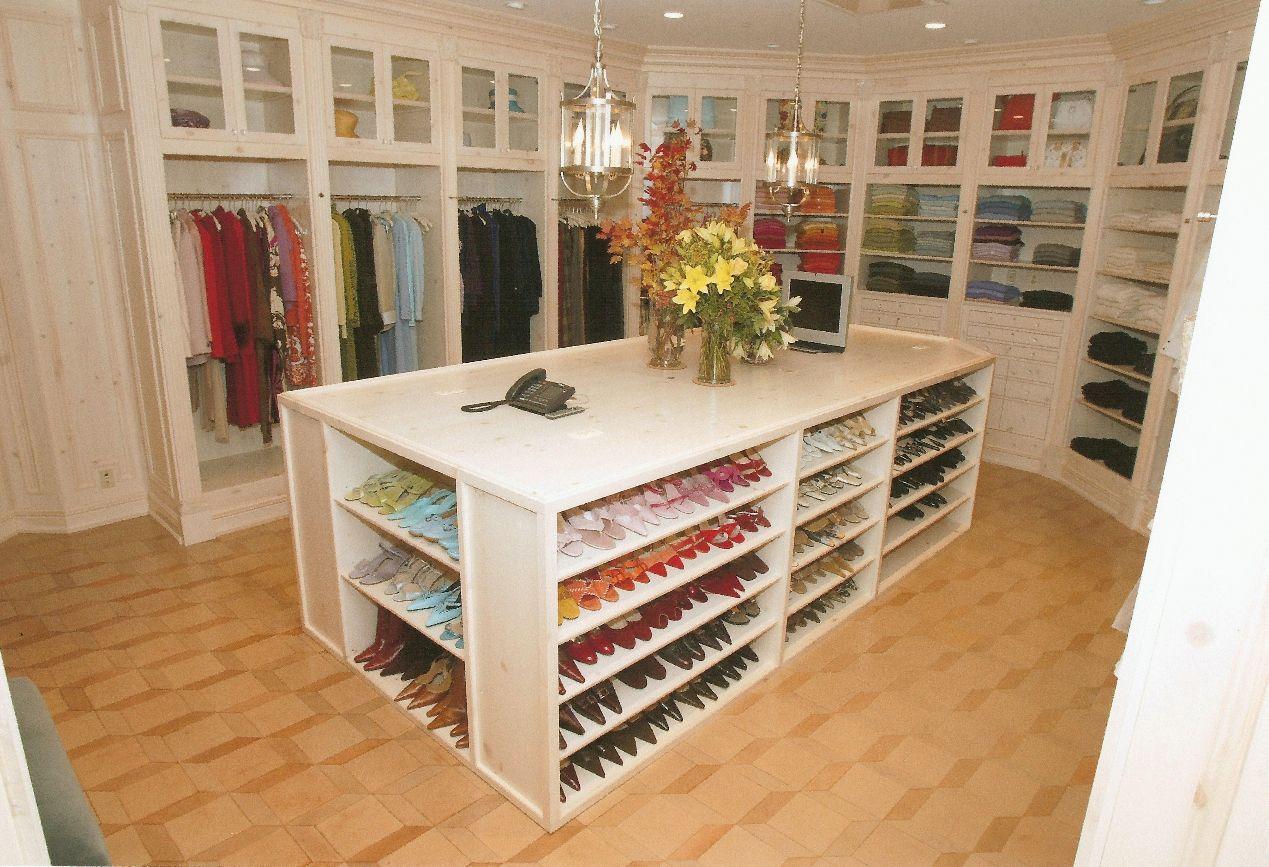 Custom Made Carpenter Dressing Room Home Bath Pinterest D Co # La Place De Chaussure A La Maison
