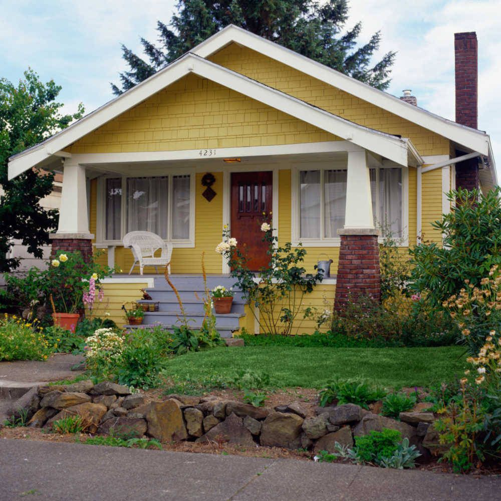 House Styles From America S Founding To Present House Paint Exterior House Styles Craftsman House
