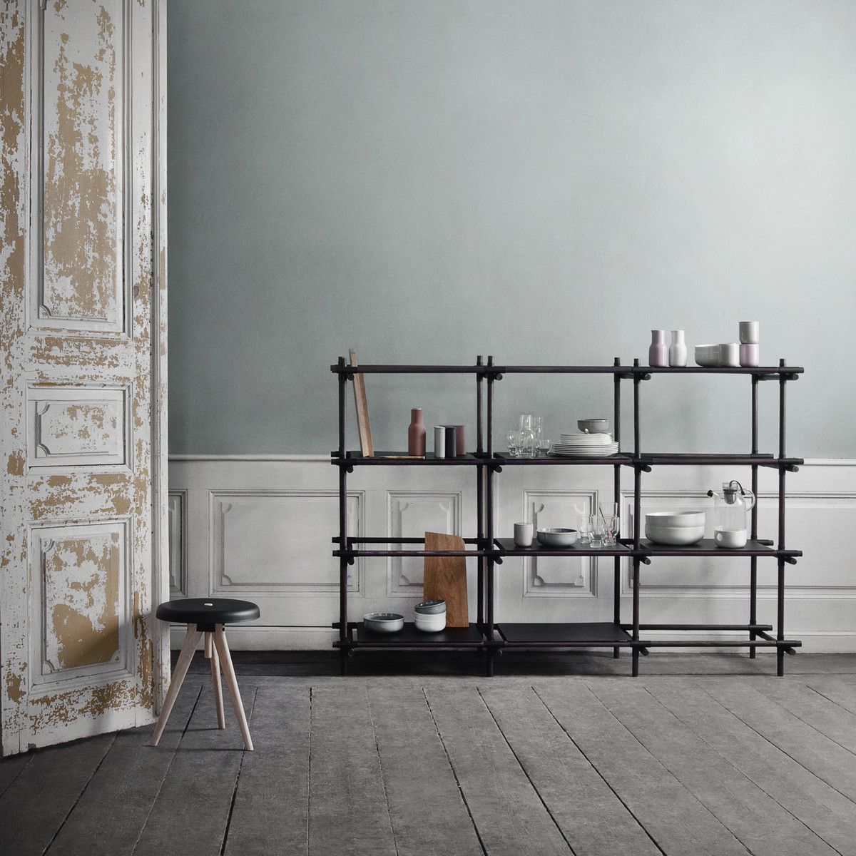 Menu Stick System Weiss Esche Weiss 1 X 3 Mobilier De Salon Amenagement Interieur Etagere