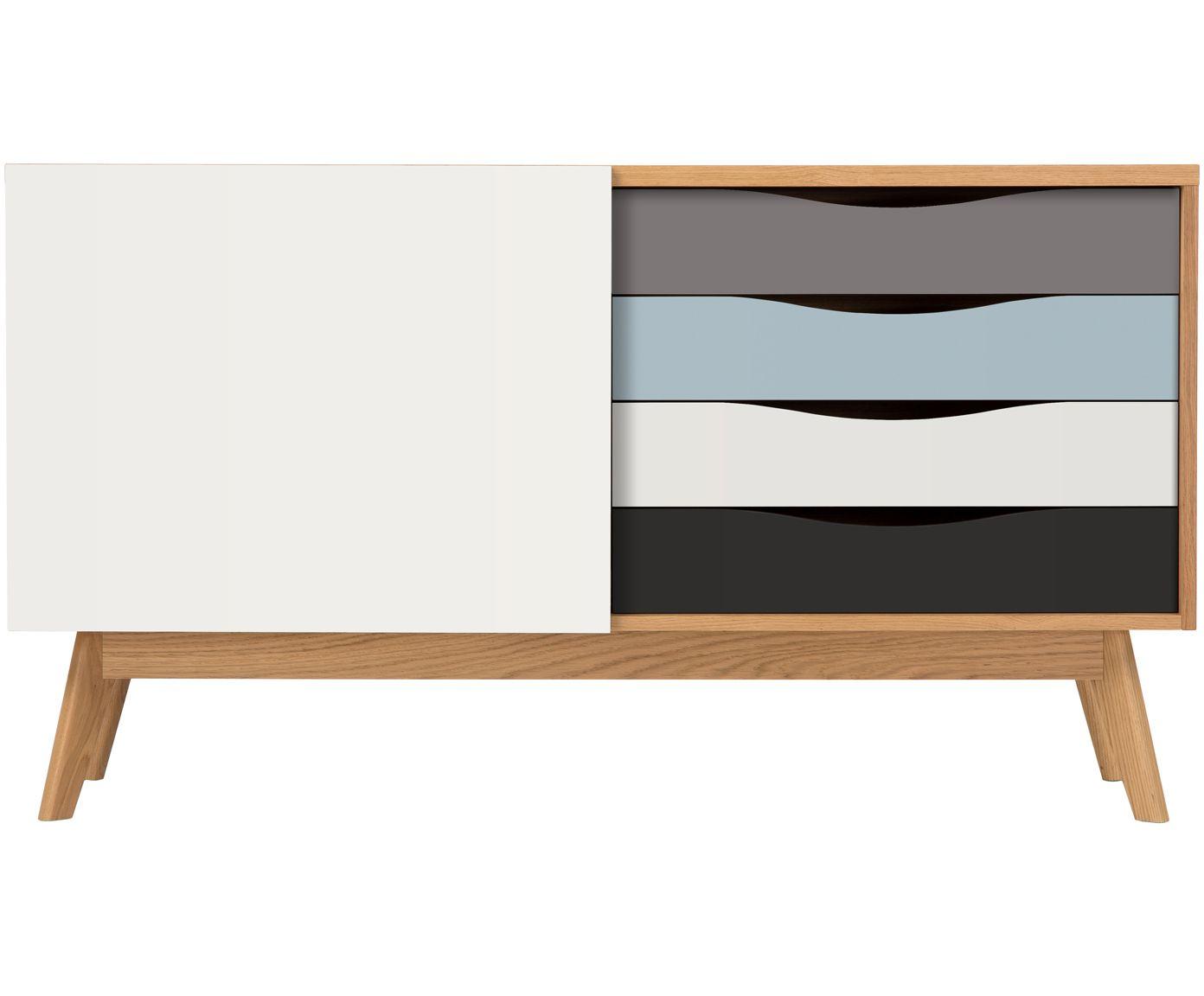 Mit Sideboard Avon In Eiche Grau Von Woodman Verwandeln Sie Ihr Wohnzimmer In Eine Wohlfühloase Entdecken Sie Weit Sideboard Hochwertige Möbel Schöne Zuhause