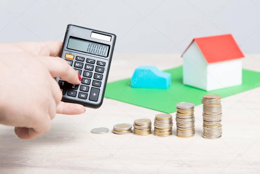 Calculating the cost of home insurance or car stock