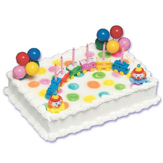 Circus Train Cake Decorating Kit Cake decorating kits Circus