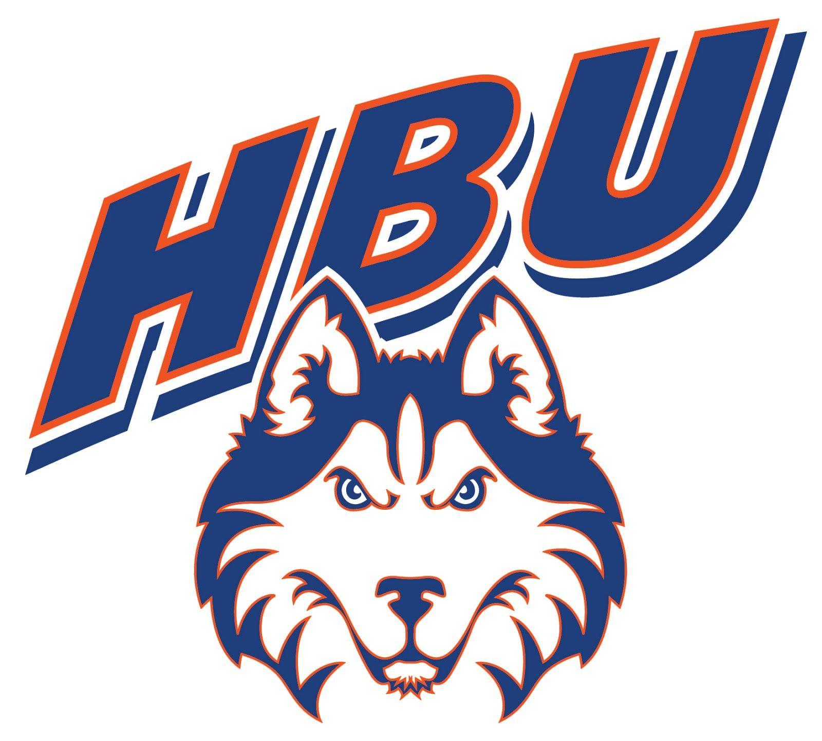 Houston Baptist Huskies Ncaa Division I Southland Conference Houston Texas Husky Logo Logo Shapes Football Usa