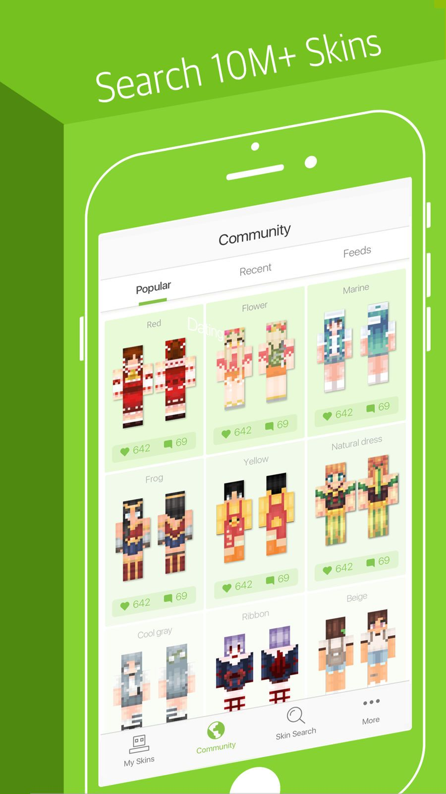 Skinseed for Minecraft Skins #Lifestyle#Entertainment#apps ...