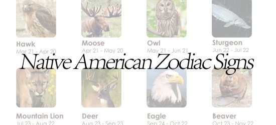 The Native American zodiac signs are wholly unique, and you'll not find these totemic birth animals anywhere else but here.