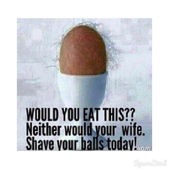 Instagram media by alisha_rhiannon - #shaveyourballs #men #ladladlad #hairy  #balls #egg