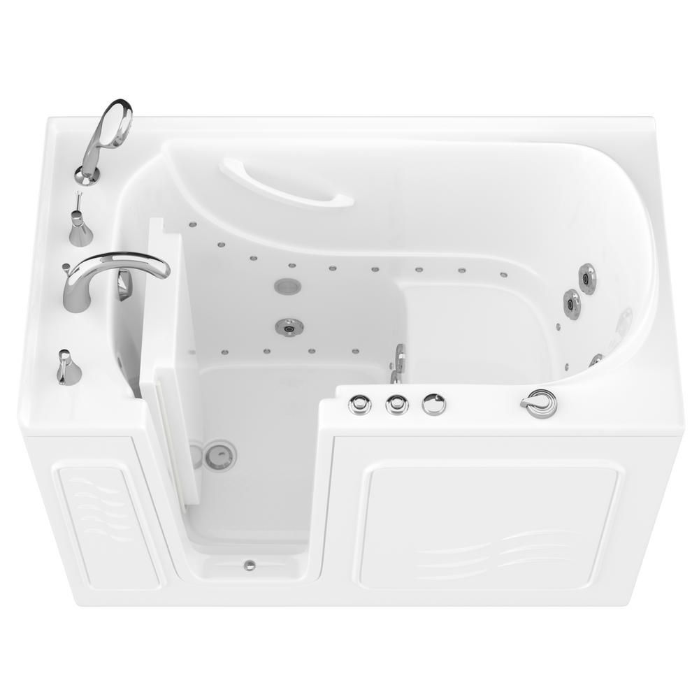 Universal Tubs Hd Series 53 In Left Drain Quick Fill Walk In