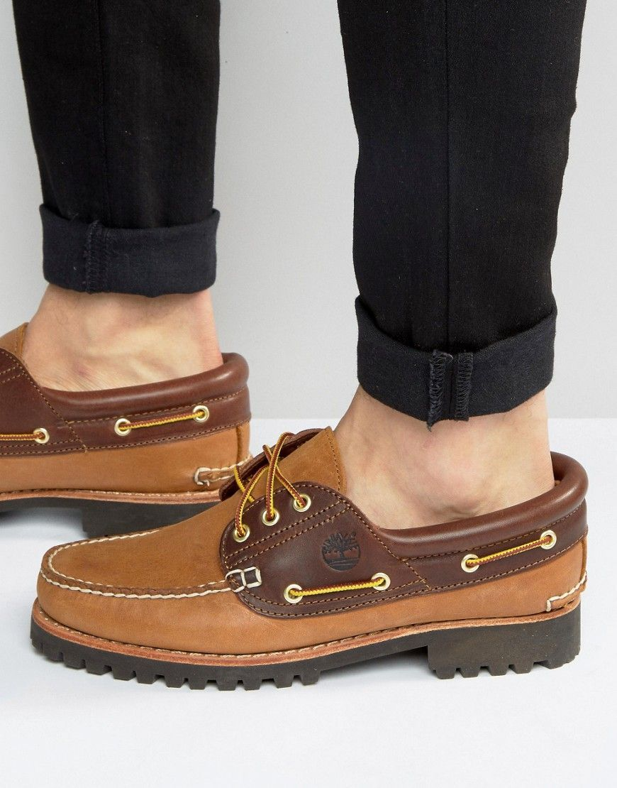 e33d2a554 Timberland Classic Lug Boat Shoes - Brown